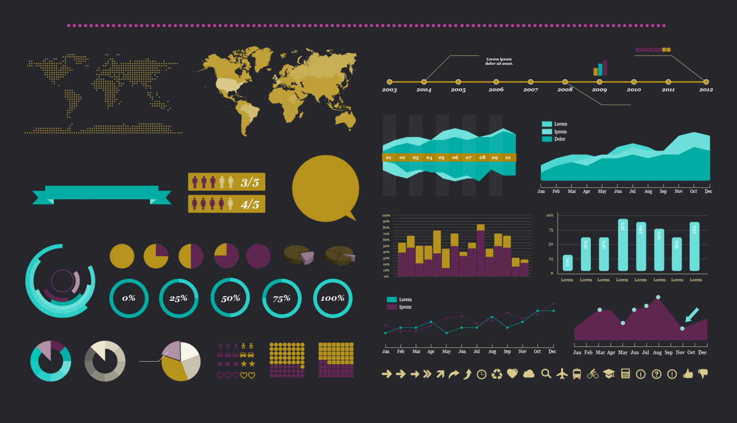 Infographics Charts & Graphs Infographic