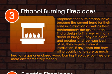 Infographics: Fireplace Designs for Home Improvement Infographic