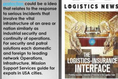 Infrastructure Protection in USA - TRG Infographic