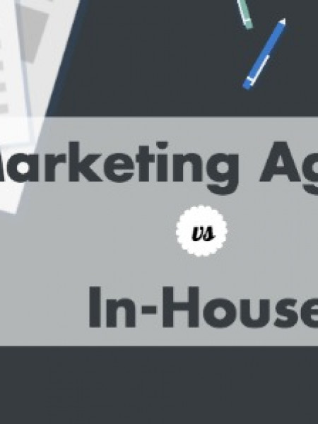 In-House Professionals Vs Marketing Firms Infographic