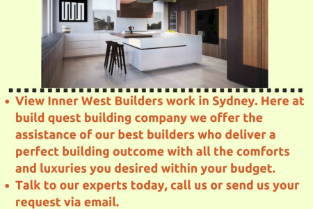 Inner West Builders Infographic