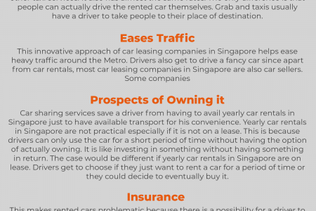 Innovations on Car Rentals: Paving way to a more convenient drive around the metro Infographic