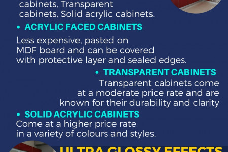 Ins And Outs Of Acrylic Kitchen Cabinets Infographic