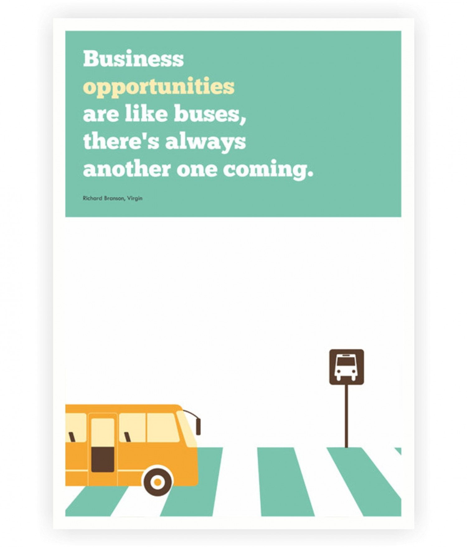 Inspirational Corporate Startup Quotes Poster Infographic