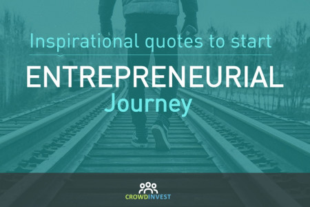 Inspirational quotes to start entrepreneurial journey Infographic