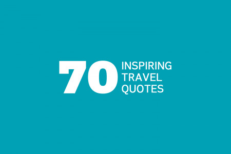 Inspirational Travel Quotes Infographic