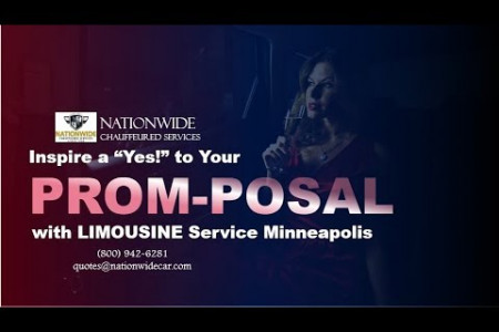 "Inspire a ""Yes!"" to Your Prom-Posal with Limousine Service Minneapolis Infographic"
