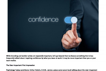 Inspire Confidence by What You Wear at Work Infographic