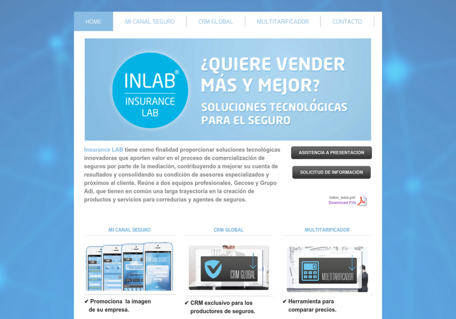 Insurance Lab Infographic