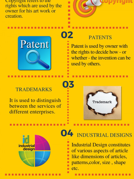 INTELLECTUAL PROPERTY RIGHTS Infographic