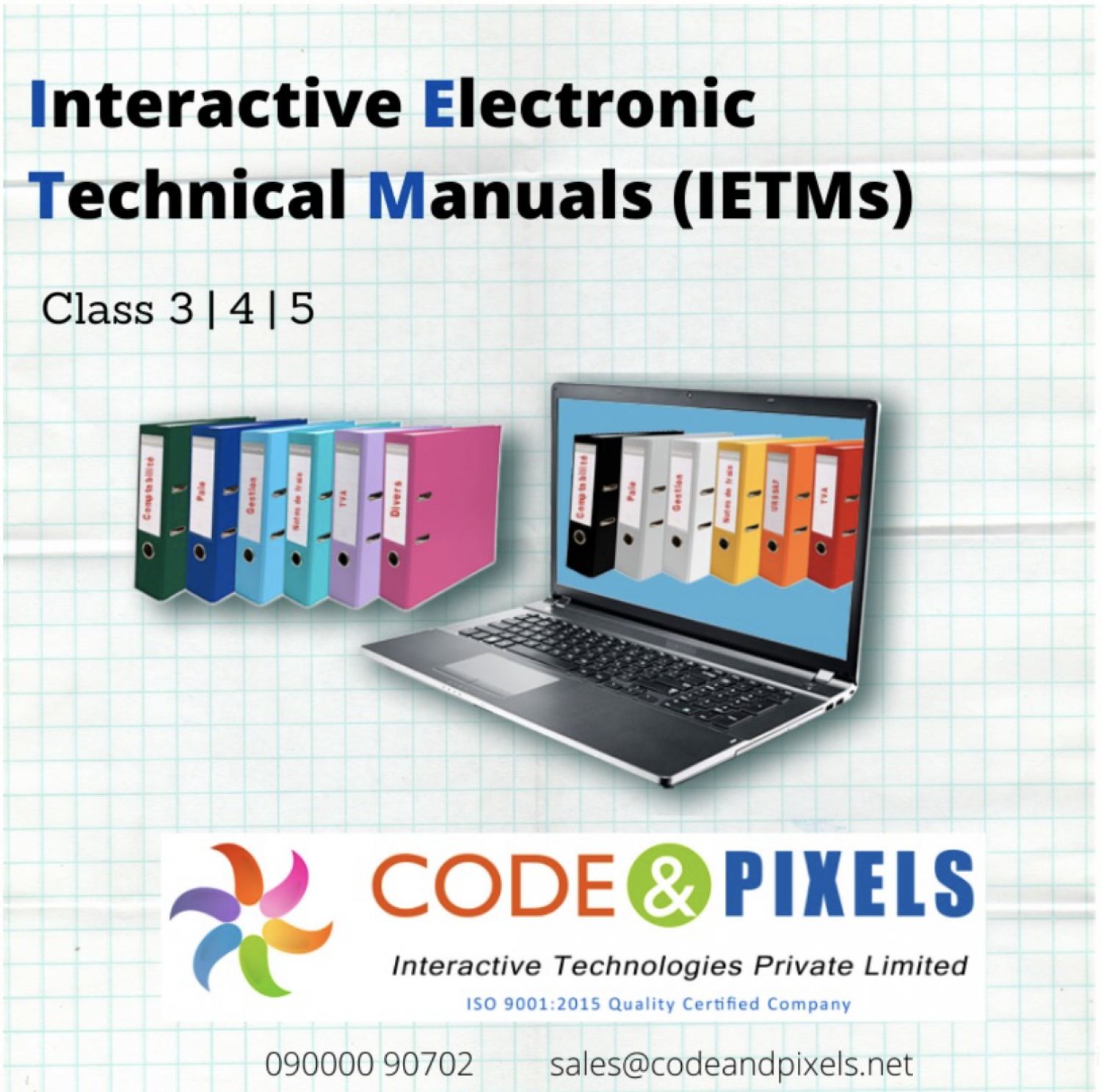 Interactive Electronic Technical Manual Services Levels in Hyderabad Infographic