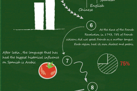 Interesting facts about languages Infographic