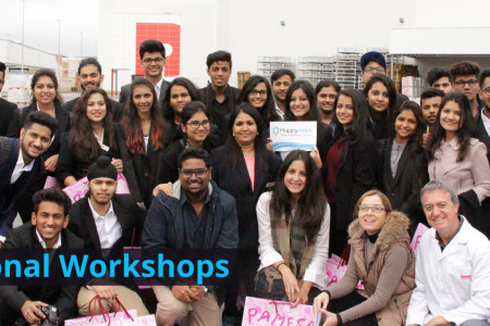 International Workshops in India Infographic