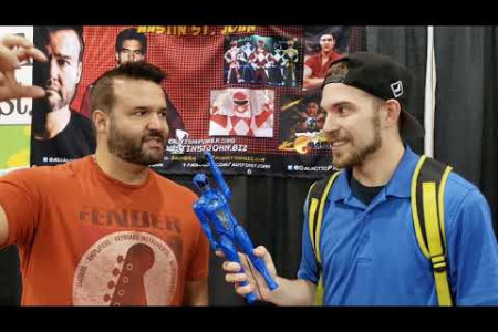 Interview with the Original Red Power Ranger Austin St. John.  Infographic