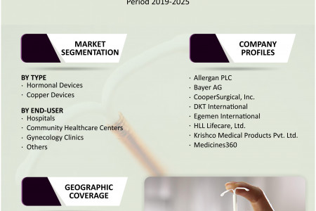 Intrauterine Devices Market Analysis, Trends, Growth, Size, Share, Forecast 2019 to 2025 Infographic