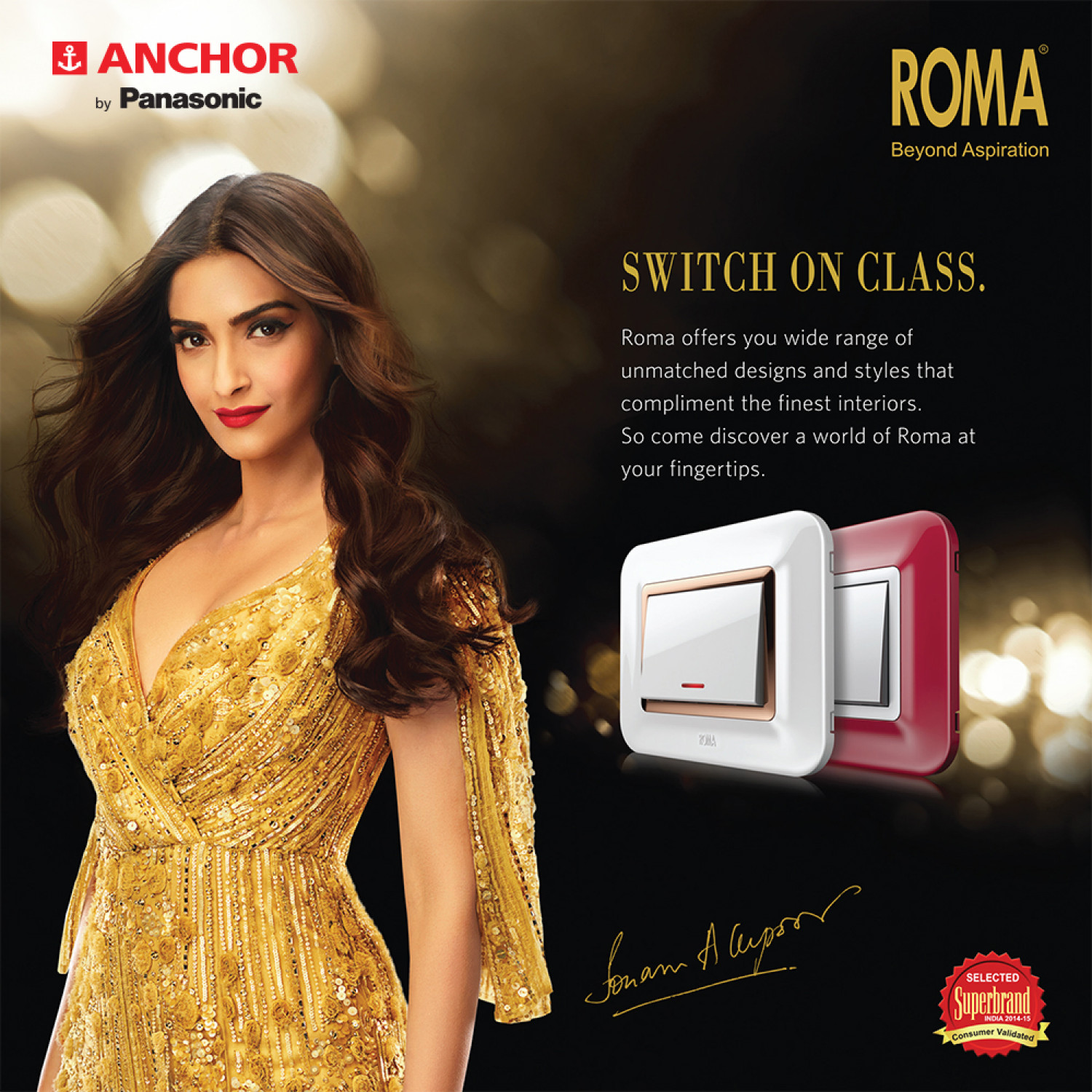 Introducing the new range of Roma Switches Infographic
