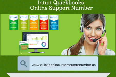 Intuit Quickbooks Online Support Number  Infographic