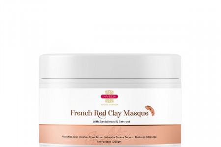 INVEDA | French Red Clay Masque Infographic