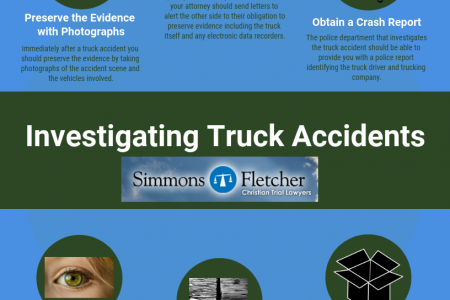 Investigating Truck Accidents Infographic