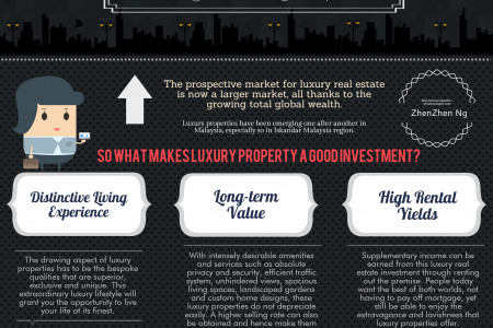Investing in Luxury Property Infographic
