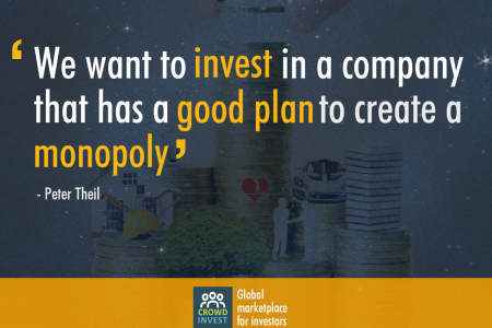 Investing Quote by Crowdinvest Infographic