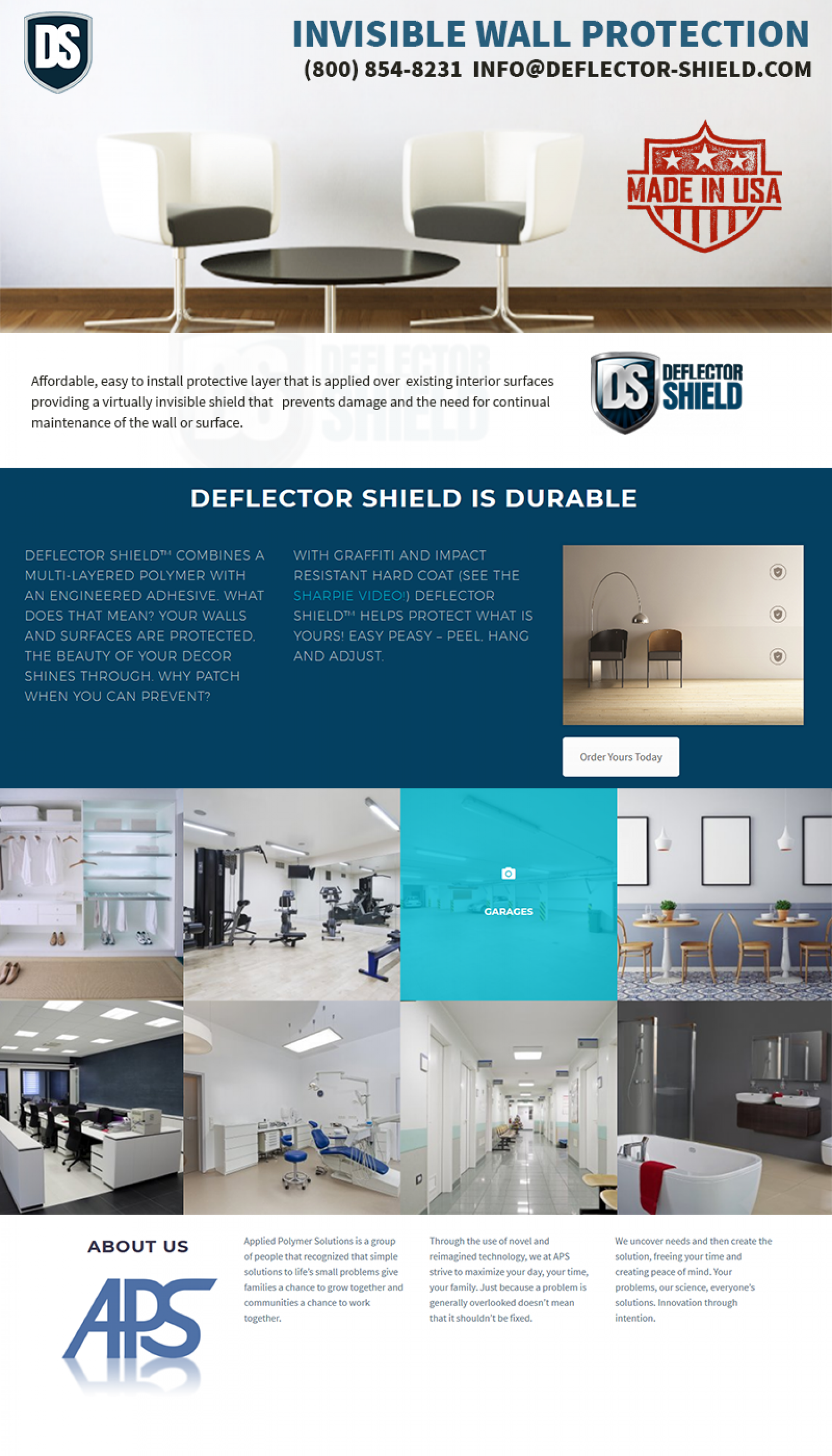 invisible wall protection -  Deflector Shield Infographic
