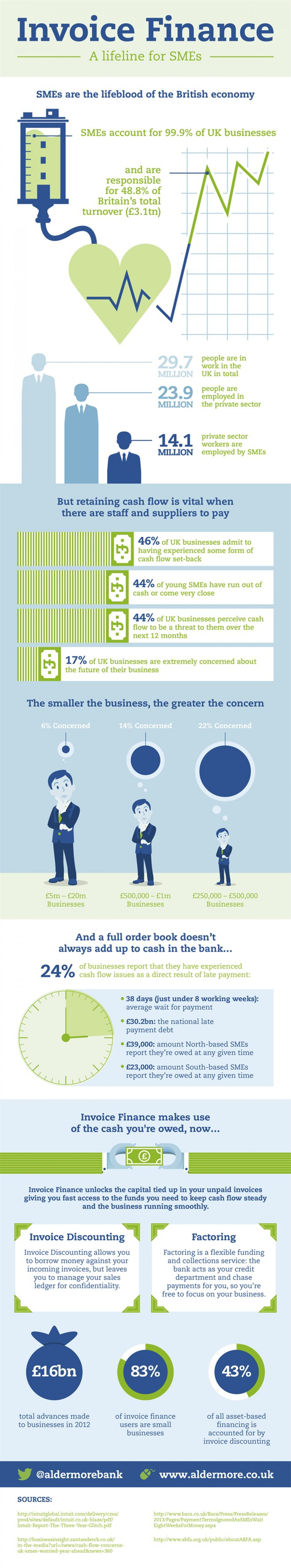 Invoice Finance: A Lifeline for SMEs Infographic
