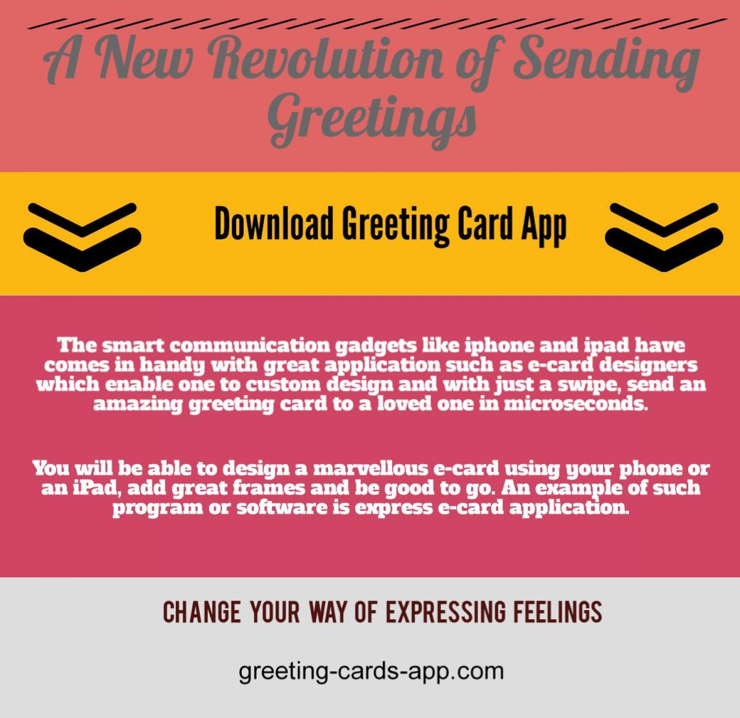 Ios Greeting Card App Visual