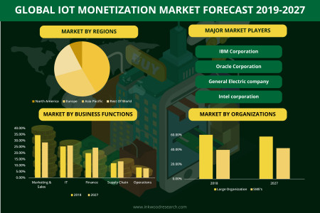 IOT Monetization Market - Global Size, Trends, Analysis 2019-2027 Infographic