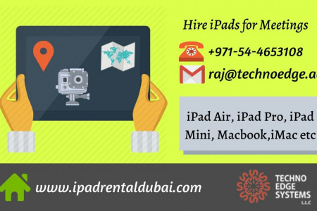 iPad Air Rental | iPad Lease Dubai | Event iPad Rental Infographic