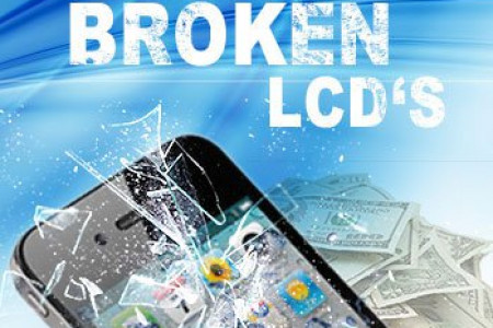 iPhone & Samsung LCD Buyback  Infographic