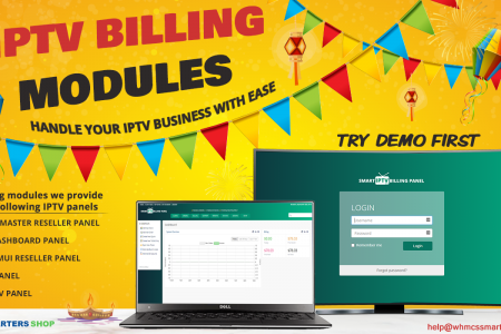 IPTV BILLING MODULES FOR RESELLERS Infographic