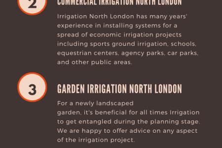 Irrigation Services in North London Infographic