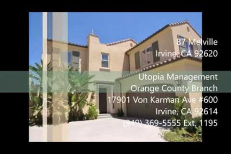 Irvine Property Management - 87 Melville, Irvine CA 92620 Infographic