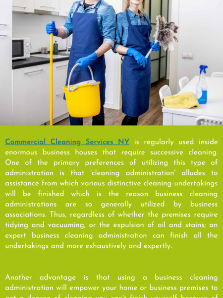 Is It Beneficial to Use Commercial Cleaning?  Infographic