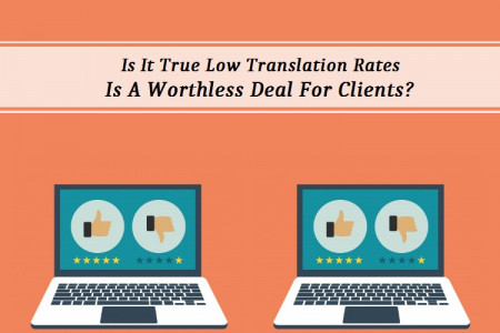 Is It True Low Translation Rates Is A Worthless Deal For Clients?  Infographic