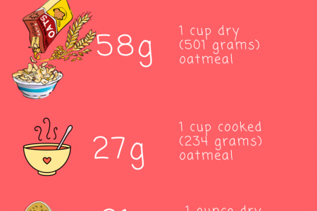 Is Oatmeal OK For A Low Carb Diet? Infographic