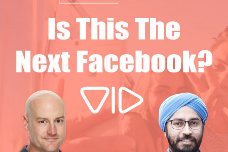 Is This The Next Facebook?  Infographic