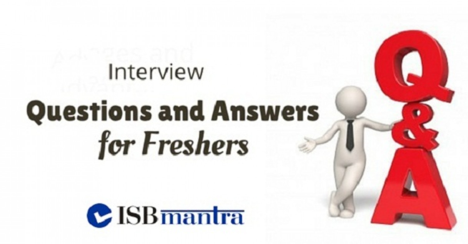 ISB Interview Questions and Answers Infographic