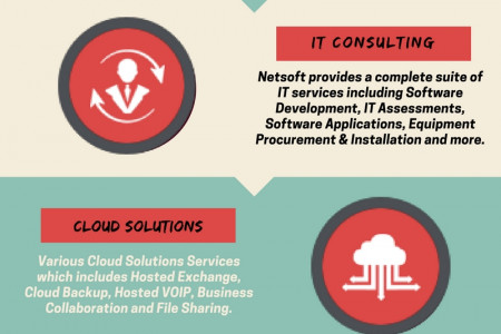 IT Services and Solutions Infographic