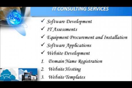 IT Services by Netsoft Solutions Infographic