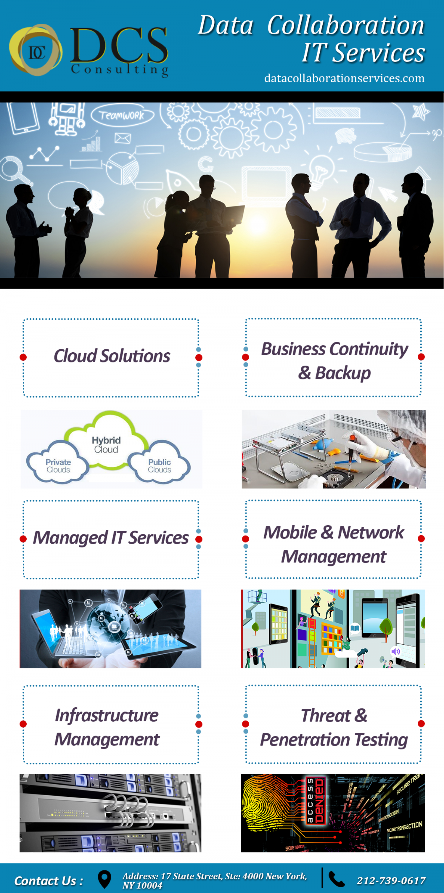 IT Solution Provider in New York Infographic