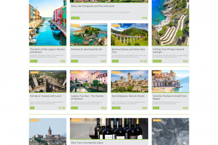 Italy Day Trips from Top Italian Cities  | The Best Day Trips in Italy - MyTours.it Infographic