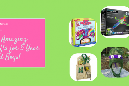 It's Time You Know about These 10 Amazing Gifts for 5 Year Old Boys! Infographic