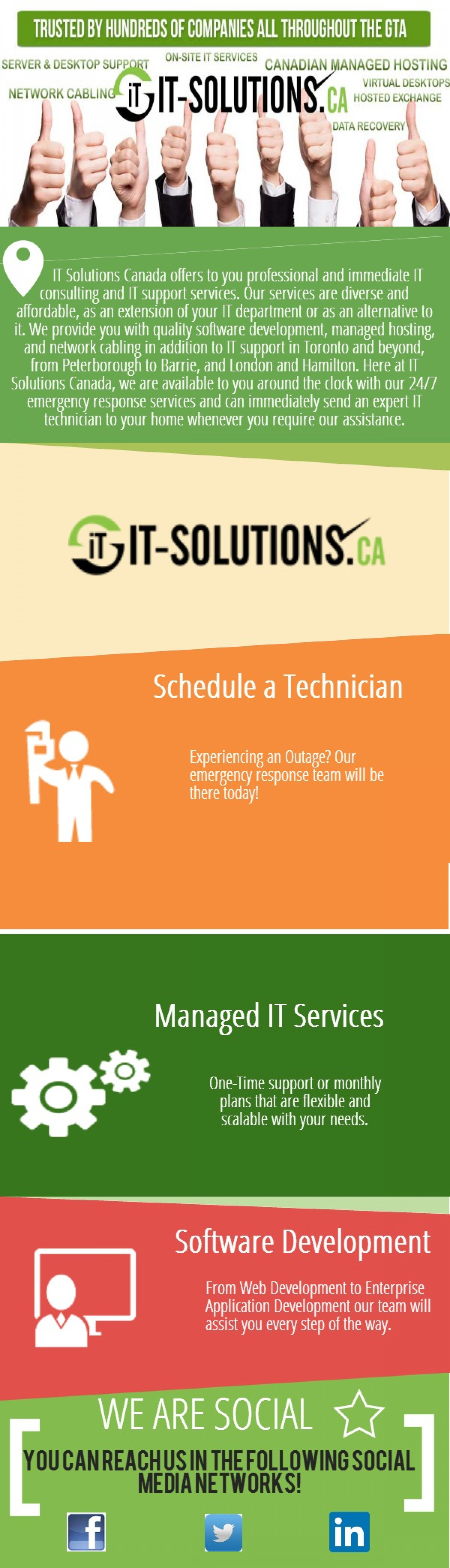 IT-Solutions Infographic