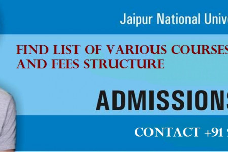 Jaipur National University [JNU]: Distance Admissions Courses Infographic
