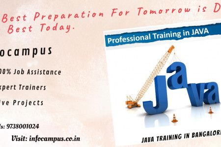 Java Courses in Bangalore Infographic