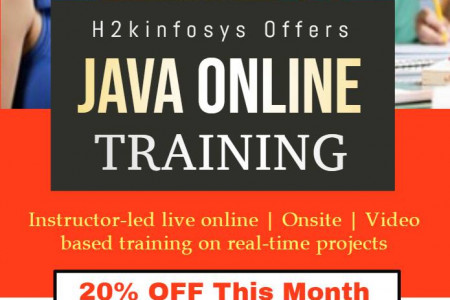 Java Online Training Infographic