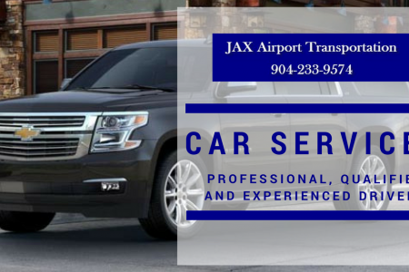JAX Car Services - JAX Airport Transportation Infographic