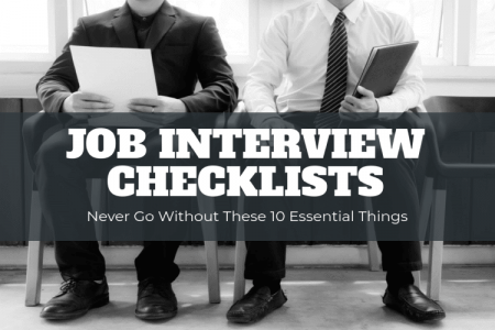 Job Interview Checklist Infographic